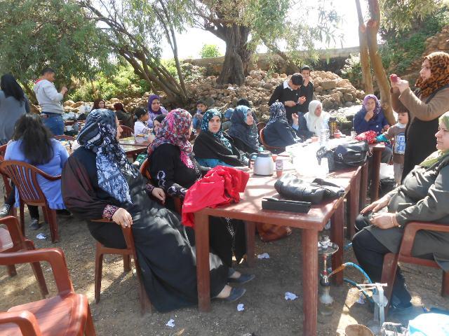 رحلة ترفيهية للجان المرأة الشعبية الفلسطينية