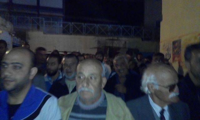 مسيرة في مخيم الجليل استنكارًا لمنع الأذان في القدس