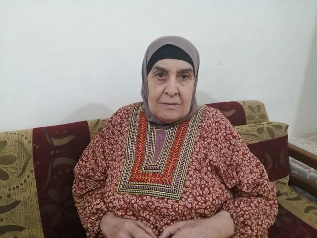 رفيقة عبد الغني: صورة فلسطين ما زالت مطبوعة في مخيلتي