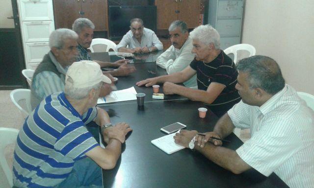 لقاء اللجنة الشعبية لمخيم البداوي والأنروا.