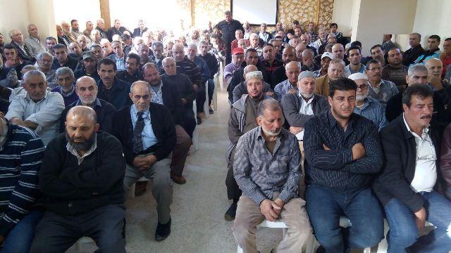 الجبهة الشعبية في صيدا شاركت في ذكرى ثالث الحاج محمود الميعاري