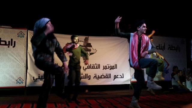 حفل فني في حرش بيروت قدمته منظمة الشبيبة الفلسطينية