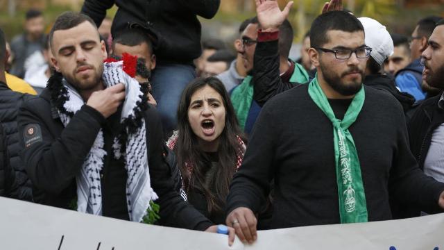 رداً على قرار الاحتلال حظر