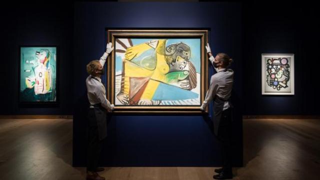 عرض 11 لوحة لبيكاسو للبيع في مزاد في أكتوبر