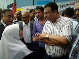 حشود في اعتصام البارد امام مركز الانروا في بيروت