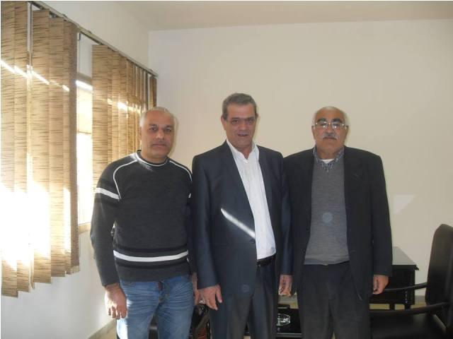 الجبهة الشعبية تلتقي النائب السابق الأستاذ نجاح واكيم