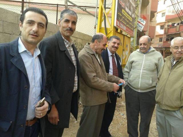 بدعم من الـ UNDP والـ UNhapital اللجان الشعبيه الفلسطينيه تنهي مشروع البنيه التحتيه في نهر البارد