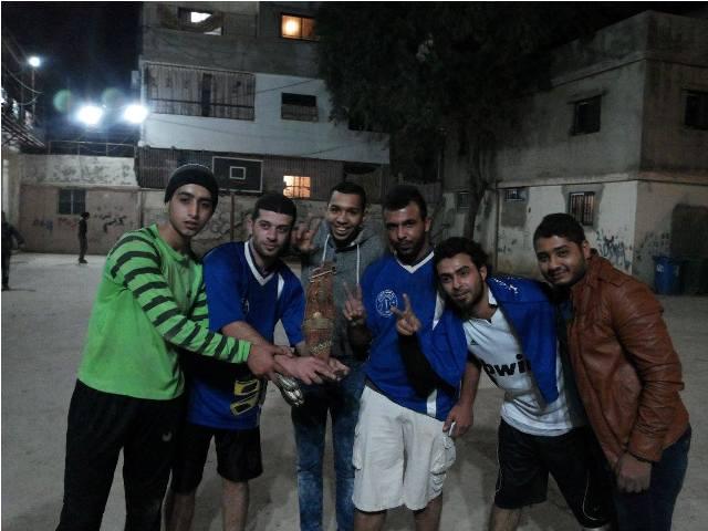 فريق منظمة الشبية الفلسطينية بطل دورة القائد المؤسس جورج حبش