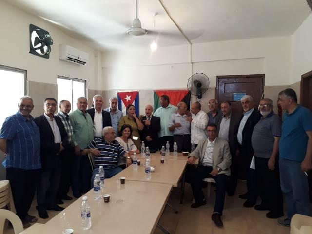 عبد العال خلال زيارة السفير الكوبي: إن ما يجري في المنامة خير دليل على سياسة الحرب الاقتصادية التي تمارسها الولايات المتحدة على الدول والشعوب العربية
