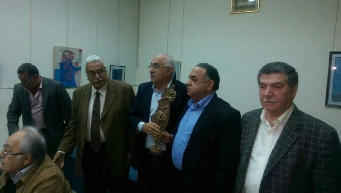 لقاء حاشد في دار الندوة تضامنا مع الاسرى وتكريما لرامز مصطفى