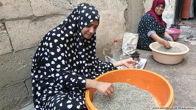 الزعتر يدعم نساءً في عين الحلوة