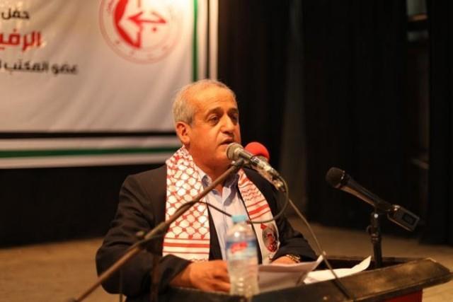 مزهر ينقل للرئيس وحركة فتح تعازي سعدات والجبهة الشعبية بوفاة صائب عريقات