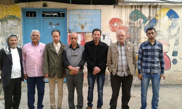 إغلاق مكتب مدير مخيم عين الحلوة