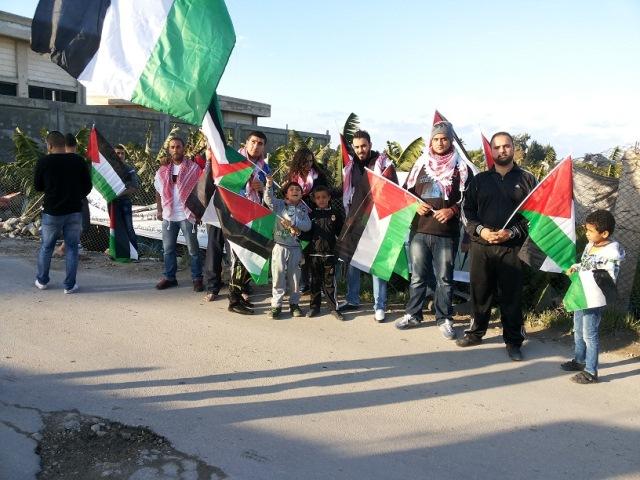 حملة العلم الفلسطيني في مخيمي الرشيدية وبرج الشمالي