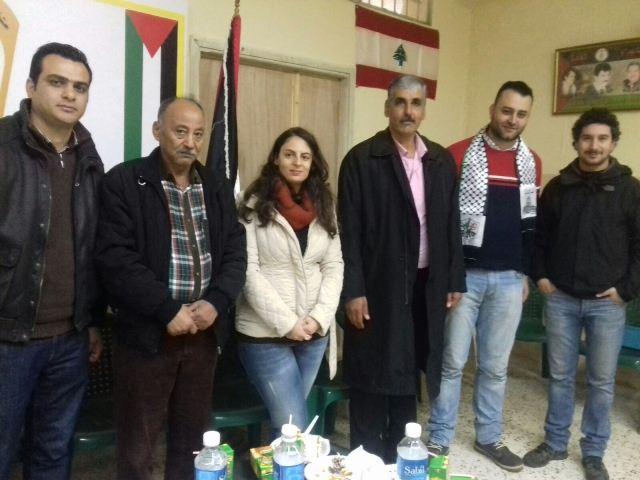 اللجان الشعبية الفلسطينية تكرم فريق عمل برنامج الأمم المتحدة الإنمائي UNDP