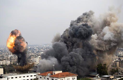 في الحرب الجارية على الشعب الفلسطيني في قطاع غزة