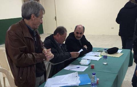 توزيع هبة الرئيس أبومازن لأهالي مخيم نهر البارد
