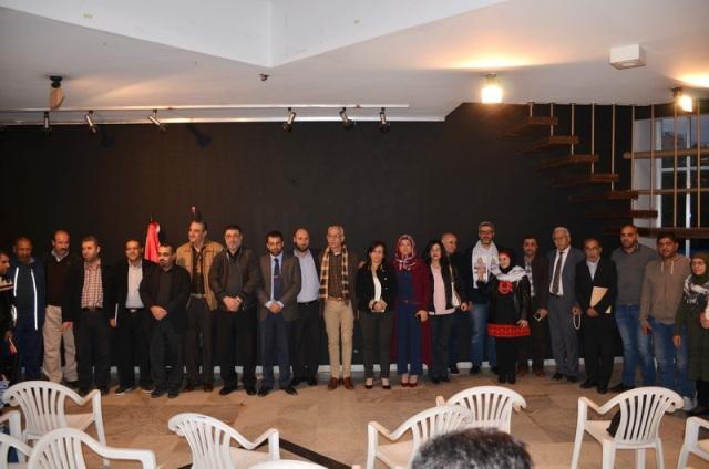 لقاء أدبي وثقافي لمنتدى الإعلاميين الفلسطينيين دعمًا للقدس في صيدا