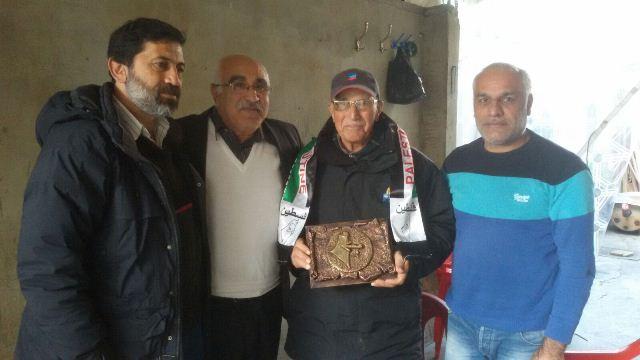 الجبهة الشعبية لتحرير فلسطين تكرم رفيقها أبوخالد الشهابي