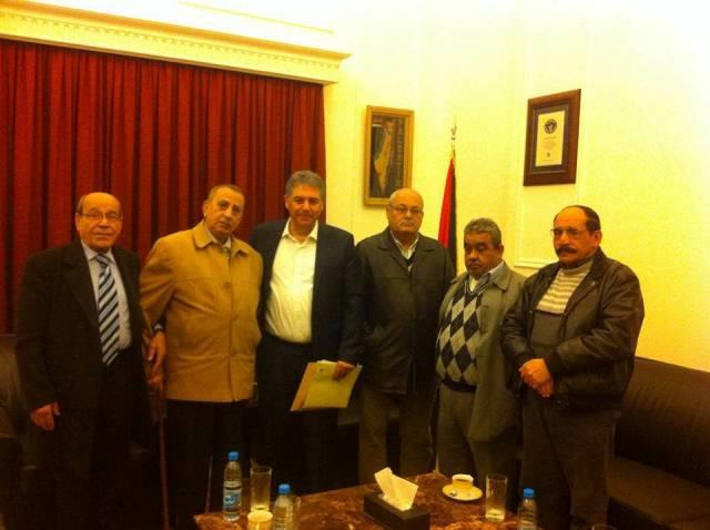 وفد اتحاد نقابات عمال فلسطين فرع لبنان التقى السفير الفلسطيني أشرف دبور