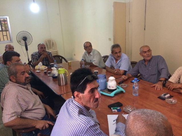بيان صادر عن قيادة الفصائل الفلسطينية في منطقة الشمال