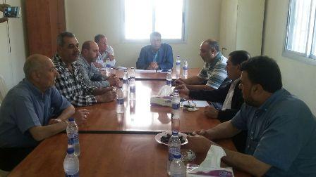 لجنة المتابعة العليا لملف نهر البارد عقدت اجتماعها في مخيم البداوي.