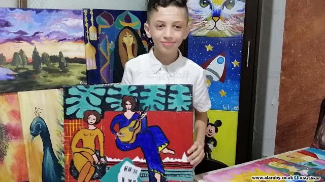 إلياس كنعان يحارب العدوّ الصهيوني بالقلم والريشة