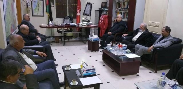 لقاء قيادي بين الشعبية وحركة فتح الانتفاضة لبحث آخر التطورات السياسية في دمشق
