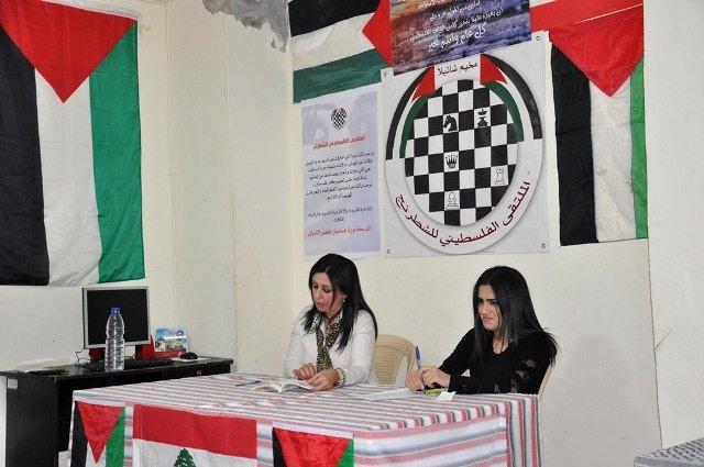 الشاعرة انتصار الدنان أحيت أمسية شعرية في مخيم شاتيلا