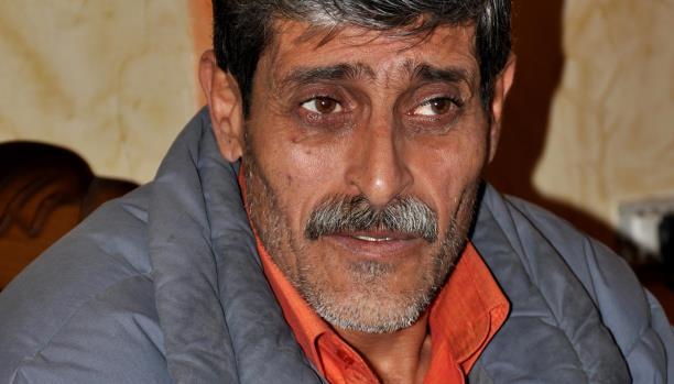 محمد أبو عيسى.. نازح من مخيّم إلى آخر