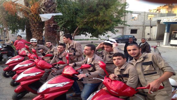 دفاع مدني في مخيم عين الحلوة