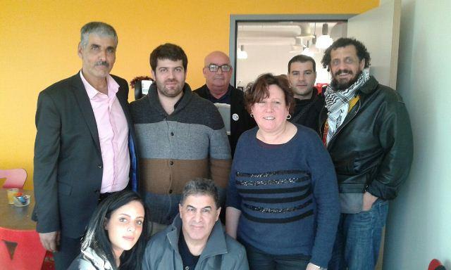 وفد فلسطيني من لبنان يزور فرنسا