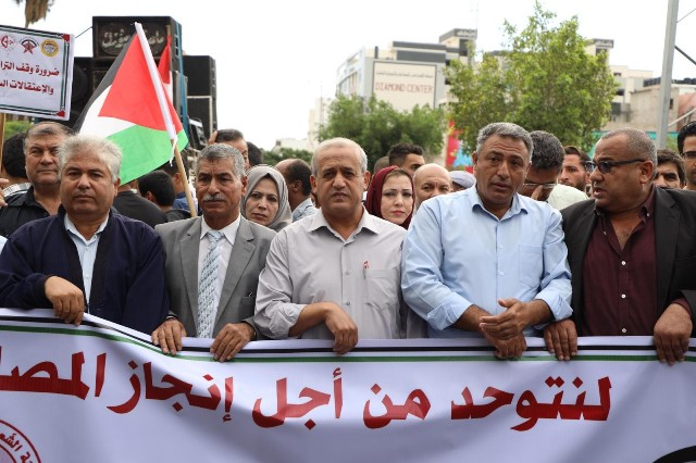 القوى الخمسة تدعو لإنقاذ منظمة التحرير.. ورفع العقوبات عن غزة