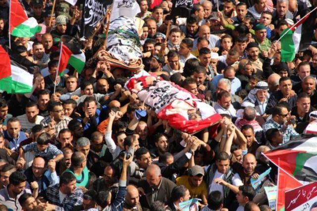 وتودع فلسطين شهداءها: نعشق الحياة... نعم.. لكننا نعشق الحرية أكثر