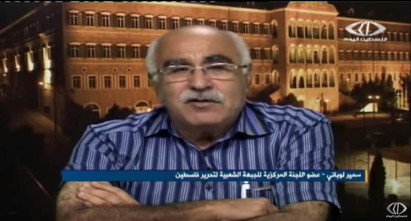 أبوجابر ضيف برنامج حدث وأبعاد على فضائية فلسطين اليوم