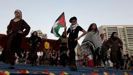 شاركت منظمة الشبيبة الفلسطينية في إحياء المهرجان الفني