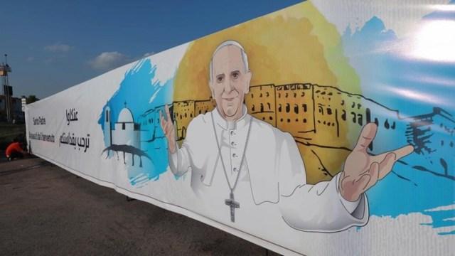 بابا الفاتيكان يبدأ زيارته التاريخية إلى العراق اليوم
