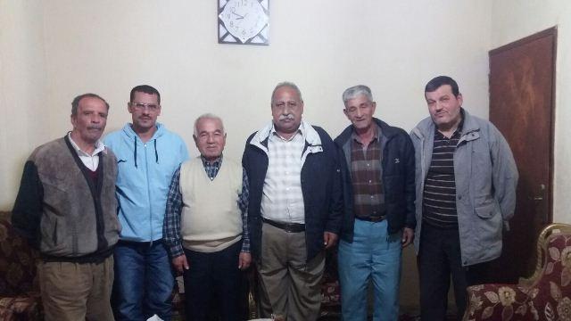 الجبهة الشعبية تلتقي الصاعقة في مخيم نهر البارد