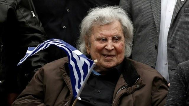 وفاة الموسيقار اليوناني ميكيس ثيودوراكيس مُلحن النشيد الوطني الفلسطيني