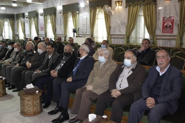 الشعبية في دمشق تقيم مجلس عزاء للمناضل الراحل عبد الرحيم ملوح