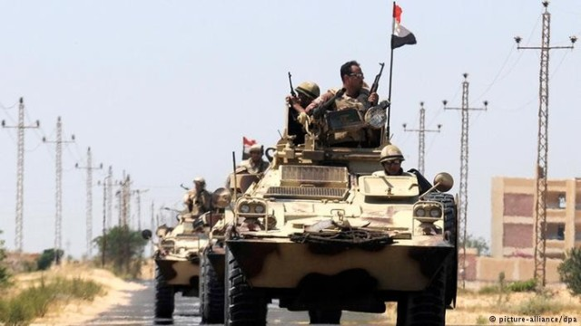 الشعبية تدين الاعتداء الإرهابي على الجيش المصري في سيناء
