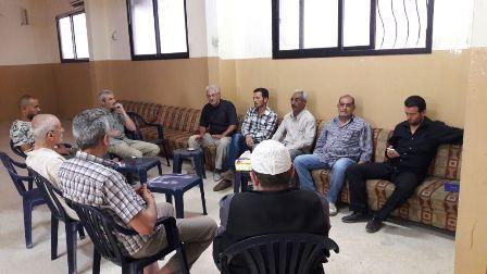 زارت اللجنة الشعبية لمخيم عين الحلوة حي طيطبا.