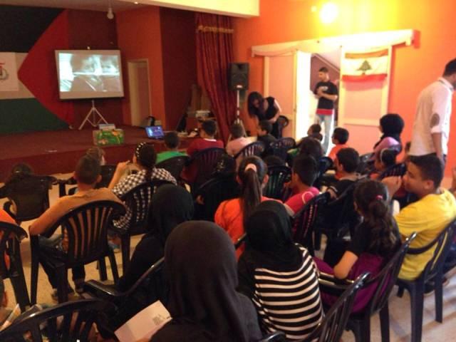 عرض سينمائي وطني في مركز الشباب الفلسطيني في البرج الشمالي