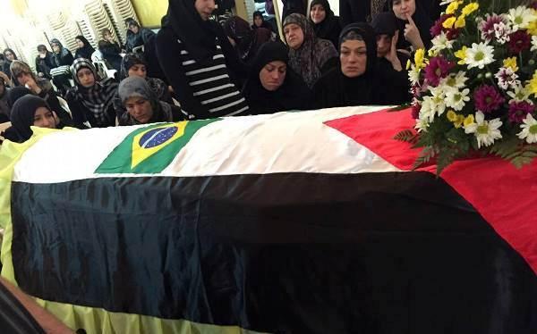 الجبهة الشعبية ولجان فلسطين الديمقراطية بالبرازيل تنعيان المناضل اسماعيل حجازي