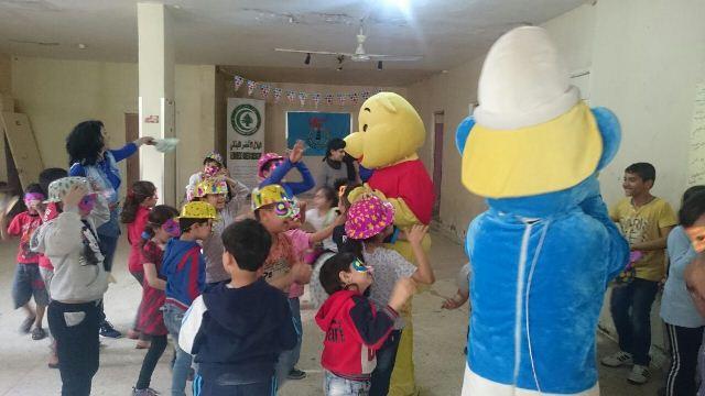 منظمة الشبيبة الفلسطينية في مخيم شاتيلا أقامت نشاط ترفيهي للاطفال