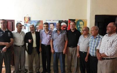 الجبهة الشعبية تستقبل قوى التحالف الفلسطيني في صور