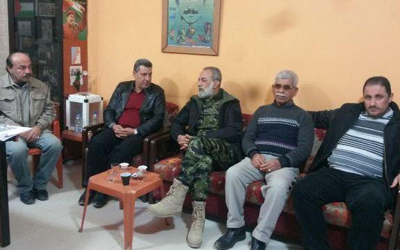 المقدح زار مكتب الجبهة الشعبية في صيدا