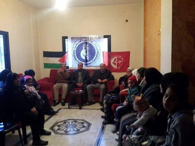 لجان المرأة الشعبية الفلسطينية في البقاع احتفلت بيوم المرأة