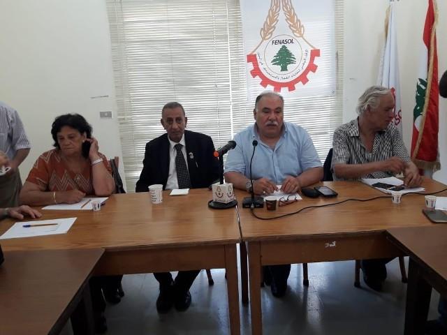لقاء لبناني فلسطيني مشترك لبحث قرار وزير العمل بحق اللاجئين