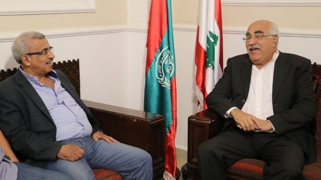 الشعبية في لبنان تهنئ الدكتور النائب أسامة سعد بفوزه بالانتخابات النيابية